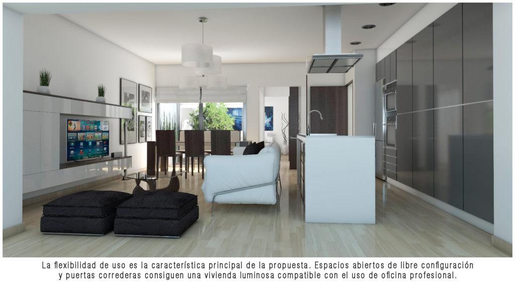 Infografía 3D vivienda